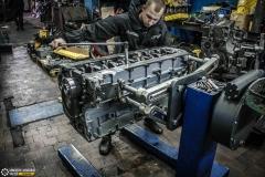 Новый блок цилиндров и сборка двигателя Deutz BF6M1013FC