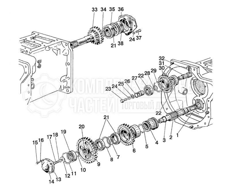 Сцепление для трактора МТЗ 82