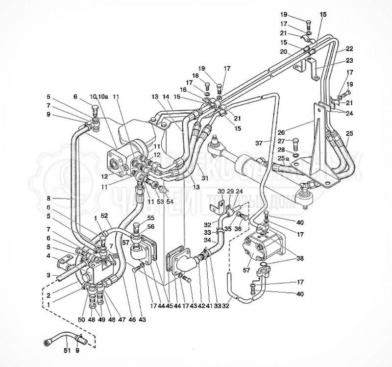 Запчасти МТЗ 80 / 82 Управление рулевое