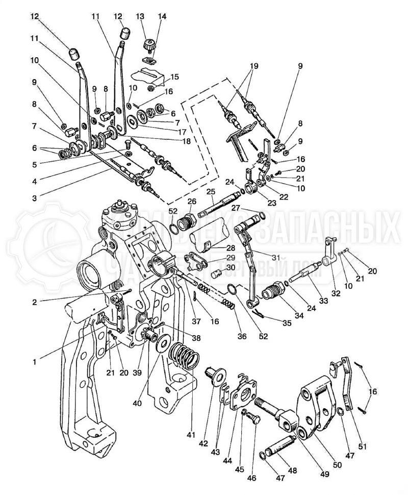 Запчасти МТЗ 80 / 82 Гидросистема